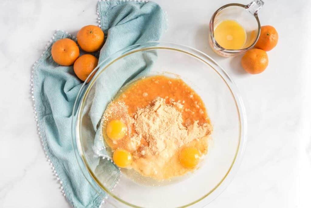 orange creamsicle poke cake ingredients