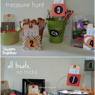 Trick-or-Treat Treasure Hunt ~ Halloween Scavenger Hunt!