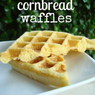 {taste this} corn bread waffles