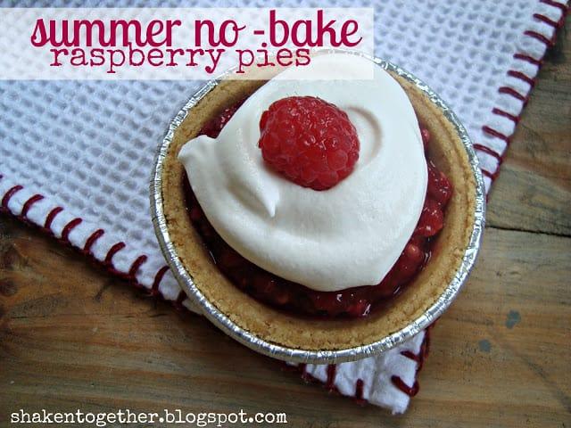 no-bake-summer-raspberry-pies