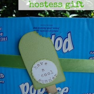 {create this} summer popsicle hostess gift