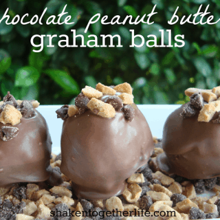 Easy no-bake Chocolate Peanut Butter Graham Balls
