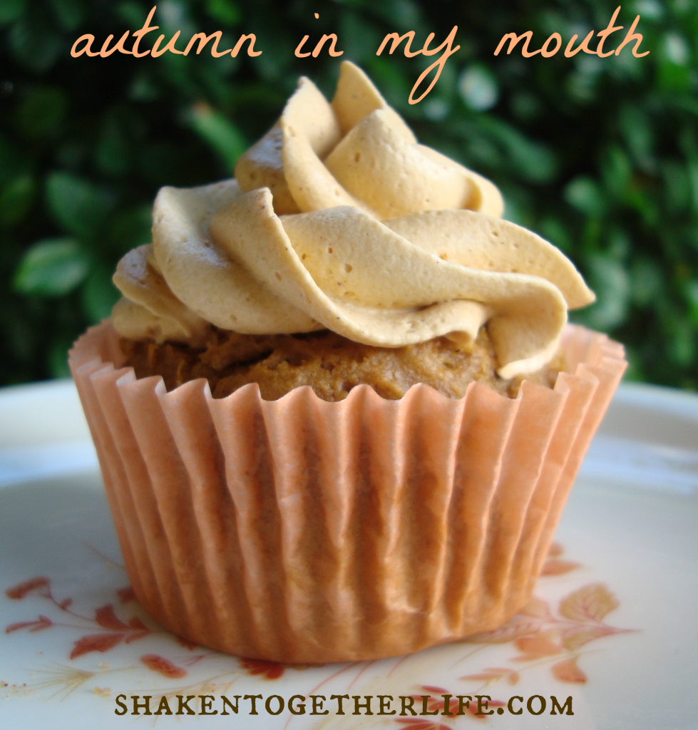 Pumpkin Cupcakes With Spice Cake Mix