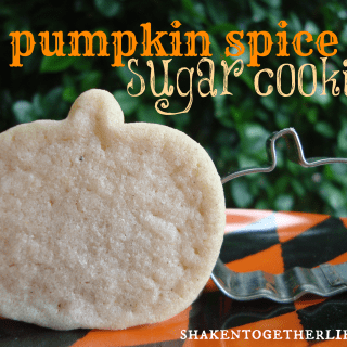 pumpkin spice sugar cookies at shakentogetherlife.com