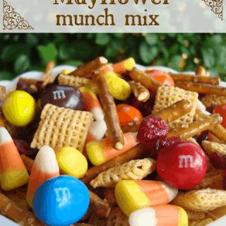 Mayflower Munch Mix - easy Thanksgiving snack mix at shakentogetherlife.com