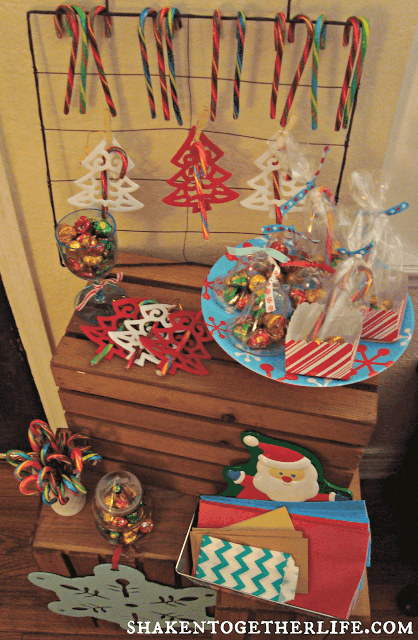 Holiday Candy Station with Nestle #HolidayCandy at shaken together