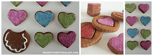 non-edible cinnamon spice dough Valentine's
