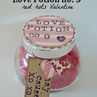 Love Potion No. 9 Red Hots Valentine