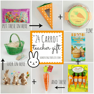 """24 Carrot"" Teacher Gifts & Virtual Spring Party with World Market"