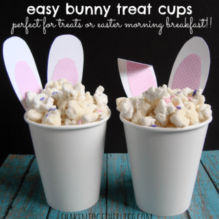 easy Easter bunny treat cups