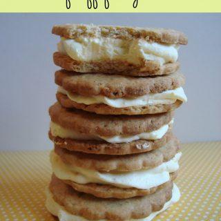 100 calorie lemon fluff freezer cookies