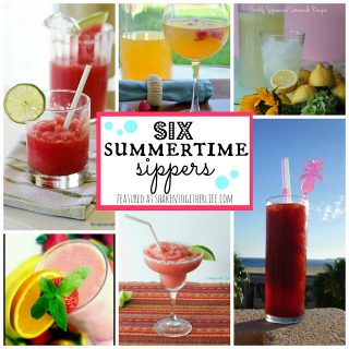6 Summertime Sippers – Delicious Summer Drinks!