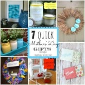 7 quick gifts for Mothers' Day featured at shakentogetherlife.com