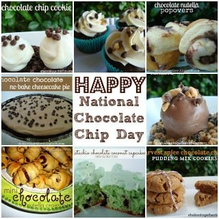 Happy National Chocolate Chip Day! 8 Yummy Recipes!