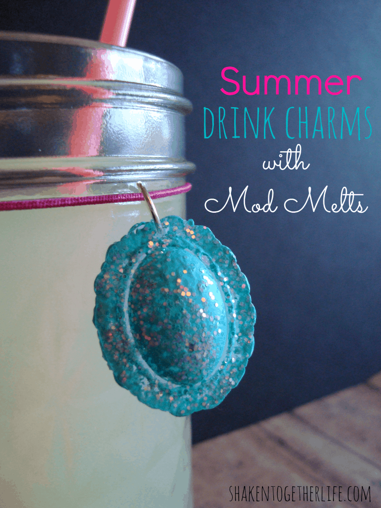 How to make summer drink charms with Mod Melts