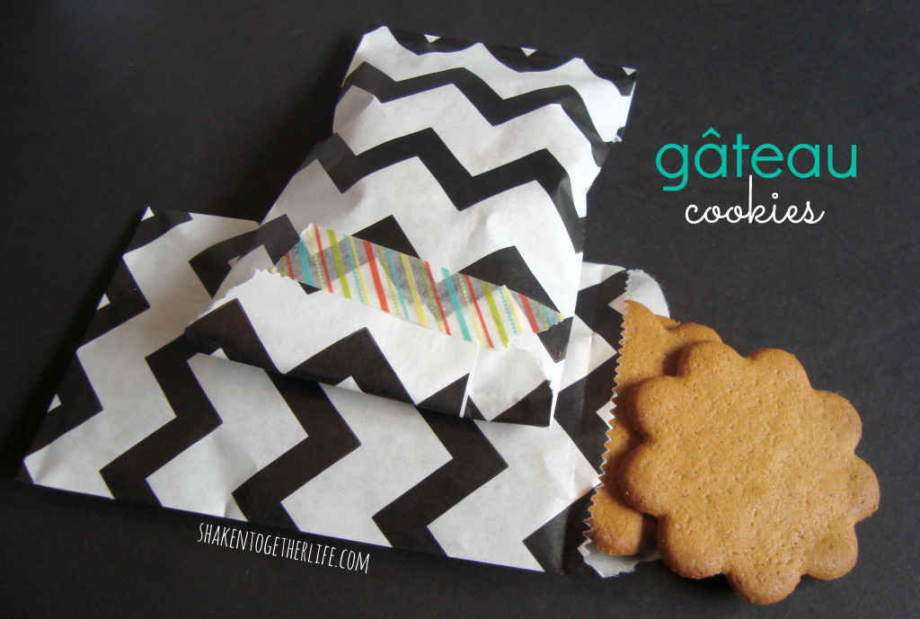 gateau (cookies) painting party favors at shakentogetherlife.com