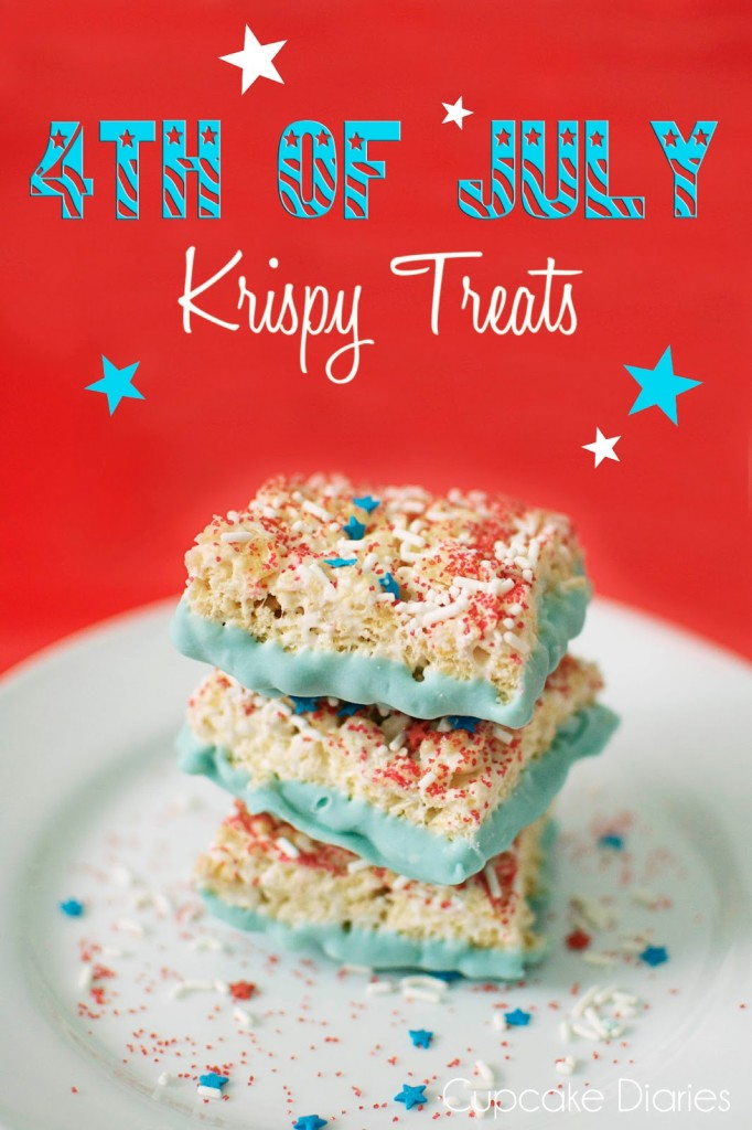 4th of July Krispie Treats
