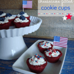 red, white & blue cookies cups at shakentogetherlife.com
