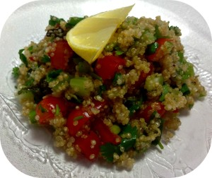 sides apps Quinoa-Tabbouleh