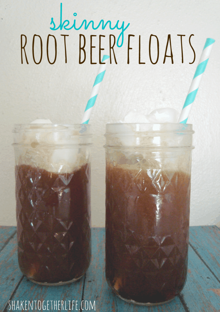 skinny root beer floats at shakentogetherlife.com - only 1 WW point!