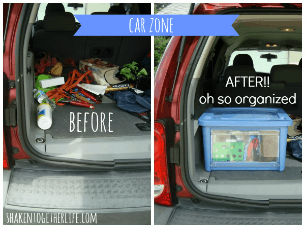 Organize your vehicle with Rubbermaid All Access organizers
