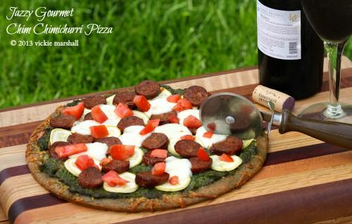 Chimichurri-Pizza