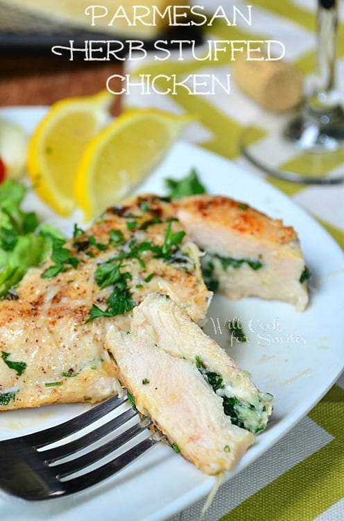 Parmesan-and-Herb-Stuffed-Chicken