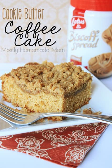 summer sweets Cookie Butter Coffee Cake 1
