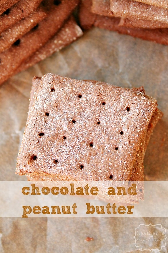 summer sweets chocolate-peanut-butter-graham-crackers