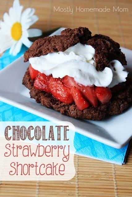 sweet treats Chocolate Strawberry Shortcake 1