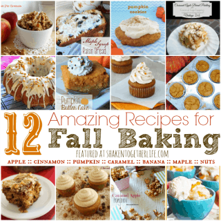 12 Amazing Recipes for Fall Baking featured at shakentogetherlife.com