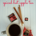 A warm Fall drink - spiced hot apple tea at shakentogetherlife.com
