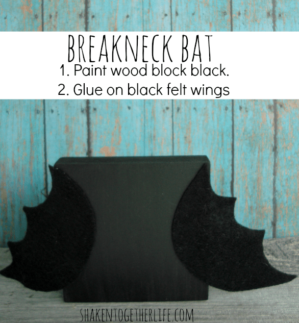 Breakneck bat for Craft Lightning at shakentogetherlife.com