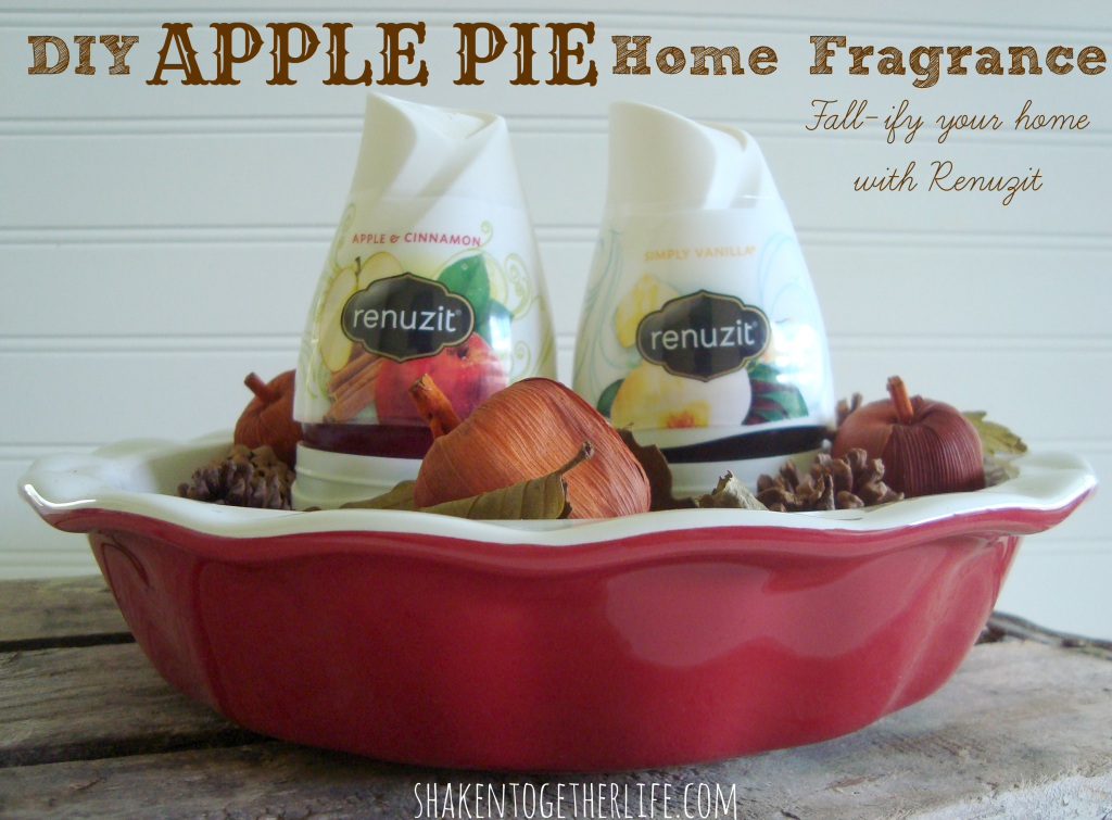 DIY Apple Pie Home Fragrance at shakentogetherlife.com #shop