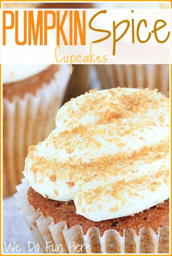Fall pumpkin-spice-cupcakes