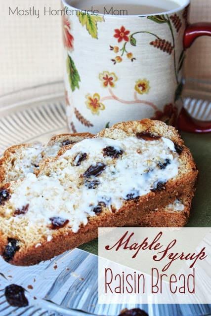 Maple Syrup Raisin Bread 1