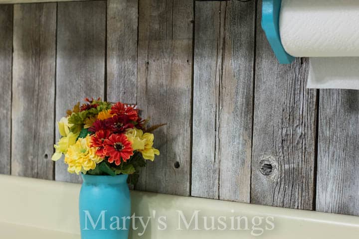 amazing DIY Fence-Board-Backsplash-from-Martys-Musings-12