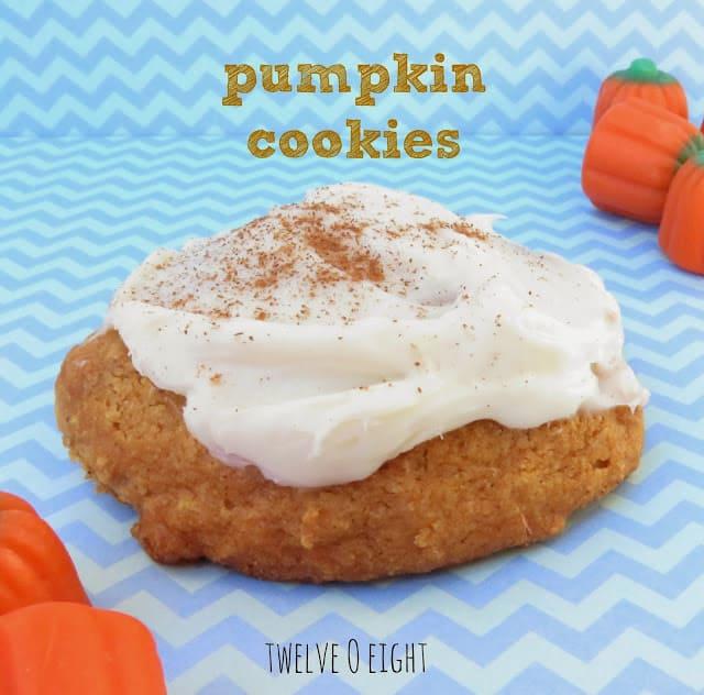 pumpkin cookie recipe main