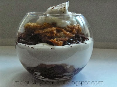 pumpkin peanut butter trifle