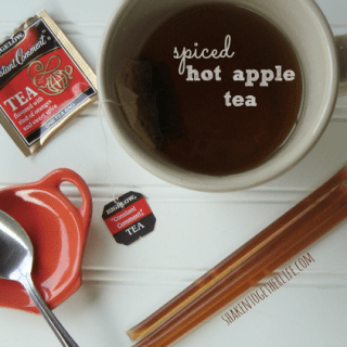 Spiced Hot Apple Tea ~ The Perfect Warm Fall Drink!