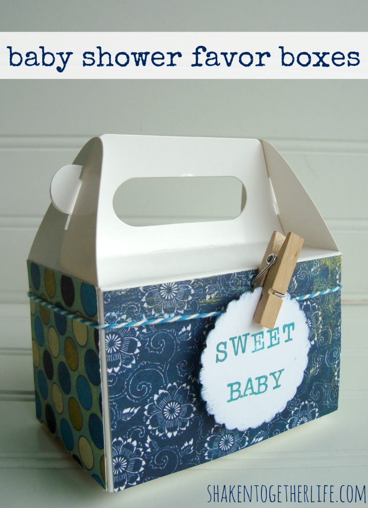 easy baby shower favor boxes for a diy surprise baby shower