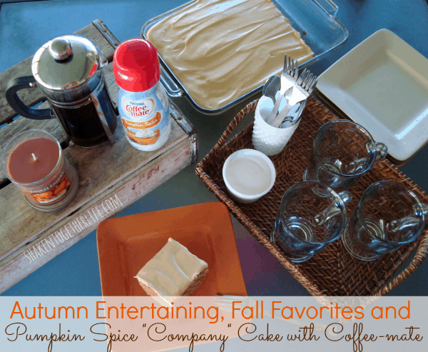 Autumn Entertaining with Coffee-mate at shakentogetherlife.com #spon