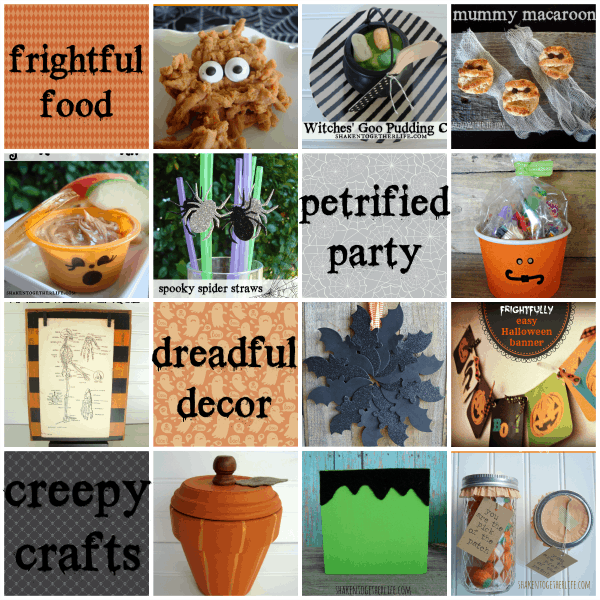 DIY Halloween Party Ideas at shakentogetherlife.com