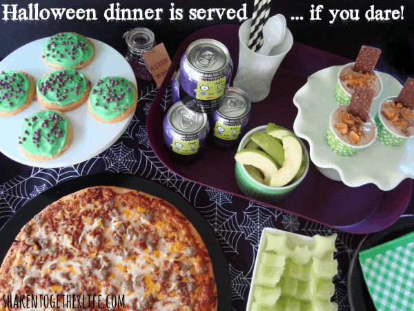 Easy Halloween dinner ideas at shakentogetherlife.com #shop
