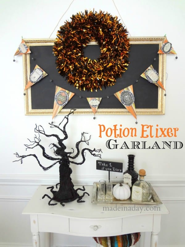 Halloween Potion-Elixer-Garland-600x800
