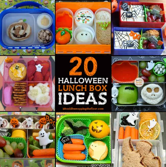 Halloween lunch box ideas