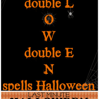 Last Minute Halloween Printable at shakentogetherlife.com