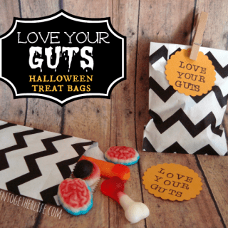 Love Your Guts Halloween Treat Bags