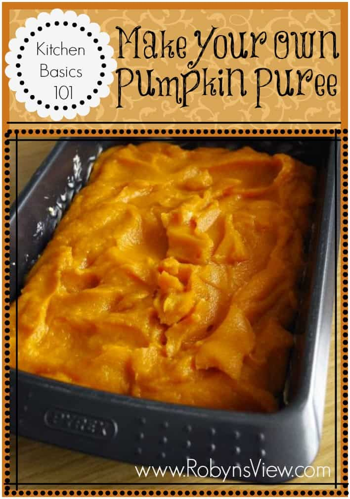 Make your own Pumpkin-Puree