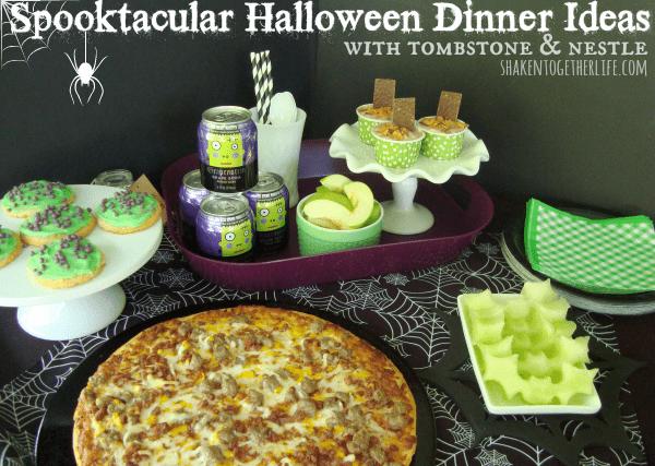 Spooktacular Halloween Dinner Ideas at shakentogetherlife.com #shop